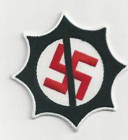 Anti Nazi gestickter Aufnäher Embroidered Patch zum aufbügeln oder annähen Neu!