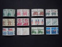 Lot of 12 EFO Misperforated Pairs MNH OG VF #2  List of Catalog #'s Below