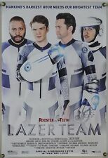 LAZER TEAM ROLLED ORIG 1SH MOVIE POSTER ROOSTER TEETH COMEDY (2016)