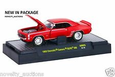 G12 32600 AM05 M2 MACHINE AUTO MODS 1969 CHEVROLET CAMARO SS/RS 396  1:64
