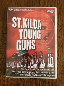 St Kilda Saints AFL DVD Young Guns LIKE NEW