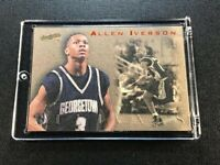 ALLEN IVERSON 1996 SCORE BOARD #REV1 REVIVALS ROOKIE CARD RC GEORGETOWN NBA HOF