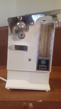 Vintage GE General Electric Can Opener with box and documents  not tested