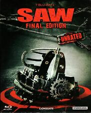 Saw 1-7 Collection Box , 100% uncut / the complete Series , english / german
