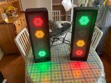 More details for soundlab 2 x 4 way led dj light box g005fd