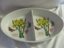 Portmeirion Botanic Garden Narcissus Minimus divided oval bowl
