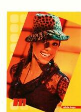 Alicia Keys teen magazine pinup clipping see through shirt hat M magazine 2002