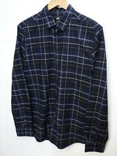 Fantastic H&M Men's Long Sleeve Brushed Cotton Checked Shirts size Medium / 38""