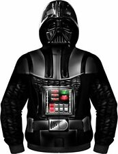 Star Wars Darth Vader Men's Costume Hoodie Size Large , Nice Condition ! Fan