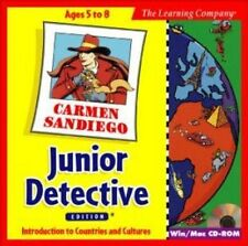 Carmen Sandiego Junior Detective  Meet children from all over the world   NEW CD