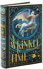 A WRINKLE IN TIME TRILOGY ~ MADELEINE L'ENGLE ~ LEATHER BOUND GIFT EDITION ~ NEW