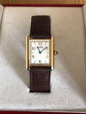 Cartier TANK Vermeil donna orologio da polso dorato, modello 590005