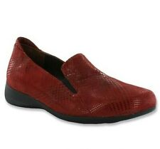 WOLKY NIB $174 Perls Dessin Houndstooth Suede Sheen Loafer Shoes Size 36 US 6