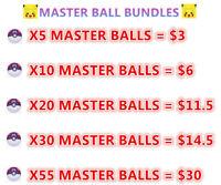 Master ball~ Pokemon Sword And Shield Master ball ~ Master Ball Bundles~Best ~