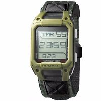 New Humvee Military OD Green Face Recon Digital Wrist Watch Nylon Strap