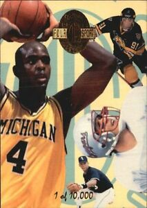 1993 Classic 4-Sport Hawaii Card Show Promo #NNO Chris Webber /10,000