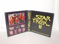 Custom Made Star Trek II The Wrath Of Khan Trading Card Binder Graphics Only