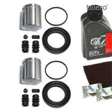 2x Pinza freno Set di riparazione + PISTONE ant. 57 mm per mando-system
