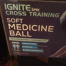 New In Box NIB Ignite Spri Cross Training Soft Medicine Ball 10 Pounds