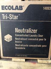 Ecolab 14893 Neutralizer Concentrated Laundry Sour 2.5 Gallon laudromat laundry