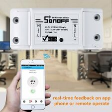 For Sonoff Pow Wireless Remote Control WiFi Switch Power Consumption Measurement