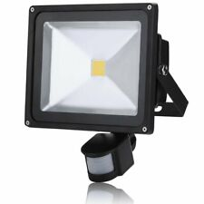 PIR 30W Motion Sensor LED Light Lamp Warm White Outdoor Security Lights UKED