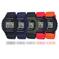 GENUINE Casio W-218H Classic Digital Sports Watch Mens Unisex Youth NEW