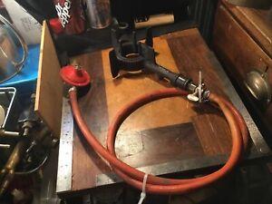 Antique farming implements