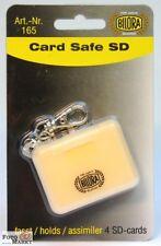 Bilora Card Safe für SDHC / SD Karten Etui für 4 Speicherkarten Speicherkarte