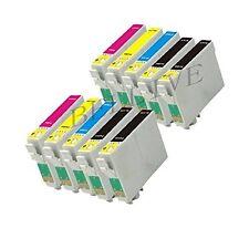 10 CARTUCCE COMPATIBILE PER STAMPANTE EPSON T0431 T0442 T0443 T0444 CON CHIP
