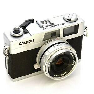Canonet 28 Canon 40mm 1:2.8 Lentille 35mm Télémètre / Parts