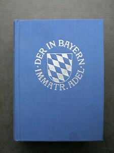 Genealogisches Handbuch des in Bayern immatrikulierten Adels Band XX 1994