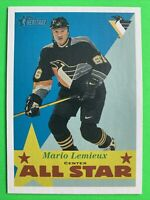 2001 Topps Heritage NHL All Star #120 Mario Lemieux Pittsburgh Penguins