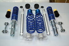 BLUE LINE VW GOLF MK 4 COILOVER ADJUSTABLE SUSPENSION BEARINGS DROP LINKS DUST C