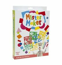 Mister Maker Craft Kit (Create Your Own Stencil Art Pack) **NEW**
