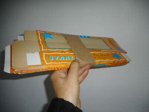 STARLUX paquet de 10 grandes boites vides originales STOCK D'USINE