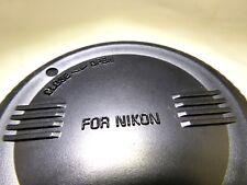 Sigma Rear Lens Cap Nikon AF-s mount EX APo 12-24mm 15mm 8mm