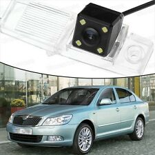 4 LED CCD Rearview Camera Reverse Parking Backup Fit for Skoda Octavia 2008-2012