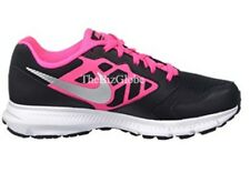 Nike Girl's Downshifter 6 (GS/PS) Running Shoes Black/Pink/Silver/White Size 5Y
