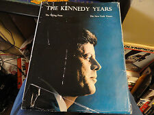 THE KENNEDY YEARS   The N.Y.TIMES   The Viking Press   Coffe Table Book