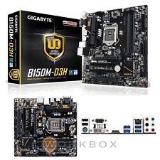 MB Gigabyte 1151 Intel B150 4x DDR4 1xM.2 1xSATAe 6xSATA6Gb/s 6xUSB3 6xUSB2 D-Su