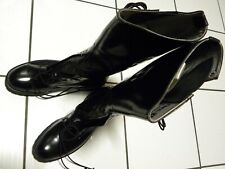 ALDEN black 10D motorcycle BOOTS police style 2003 vintage 'MASS' new NEVER WORN