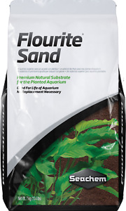 Seachem Flourite SAND 7kg Planted Aquarium Fish Tank Substrate Shrimp Aquascape
