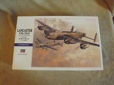 Hasegawa 1/72  RAF Lancaster B MkI/MkIII Kit# E23 open box sealed bags