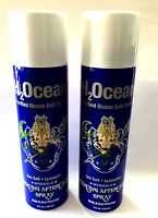 H2ocean Piercing Aftercare Spray For Body and Oral Piercing 4 Oz - Set of 2