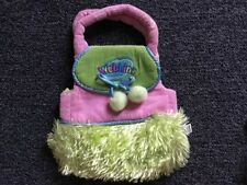 GANZ WEBKINZ Pink/Green Plush Pouch/Pet Carrier Backpack - NO TAG