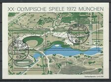 Bundespost Block  7 gestempeld (1)