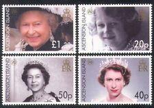 Ascension Island 2006 Royalty/Queen Elizabeth II/QEII/80th Birthday 4v (n39555)