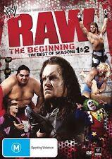 WWE - Raw : Season 1-2 (DVD, 2010, 4-Disc Set) - Region 4