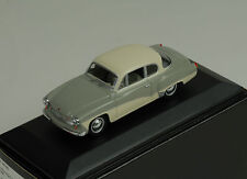 Wartburg A 312 coupe 1958 grey/white Minichamps 1:43